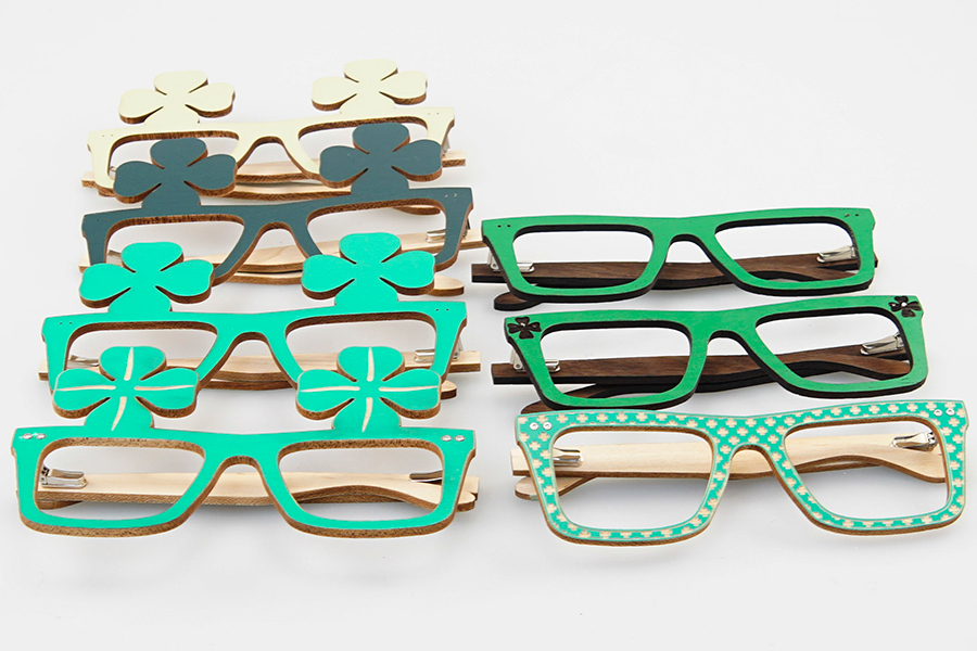 st. patrick's day glasses options